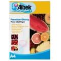 Aibek Glossy Paper 200 แกรม (แพ็ค 20 แผ่น)